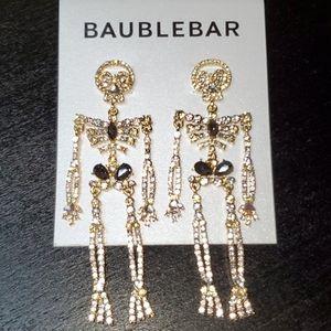 Baublebar Rhinestone Skeleton Earrings 💀